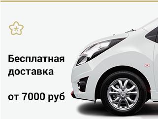 Бесплатная доставка от 7000 руб.